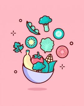 Vitamin k illustration