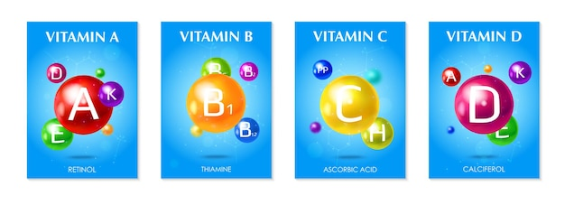 Vitamin-set-abbildung