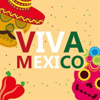 Viva mexico feier