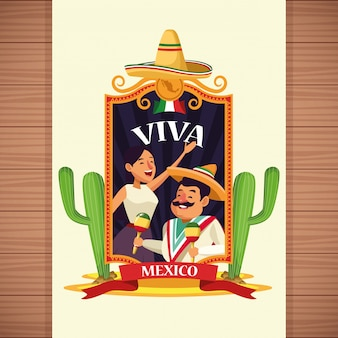 Viva mexiko cartoons