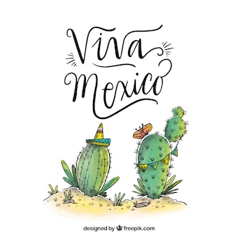 Viva mexiko hintergrund
