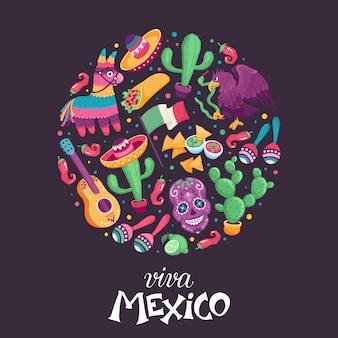 Viva mexiko plakat