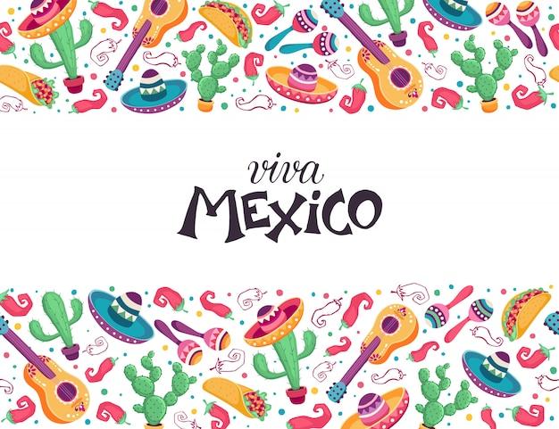 Viva mexiko-plakat