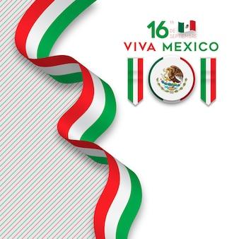 Viva mexiko unabhängigkeitstag 16. september