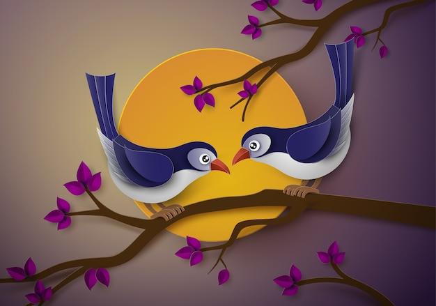 Vogel in der liebe