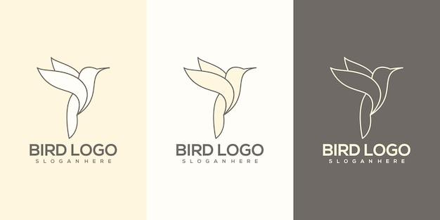 Vogel logo vorlage