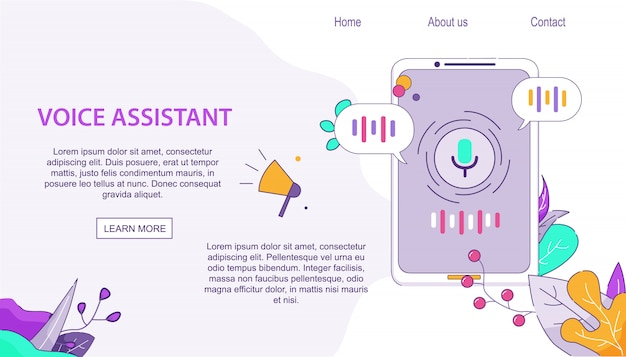 Voice assistant client für handys auf android