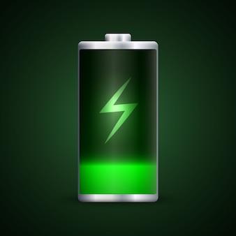 Volle batterieladung.
