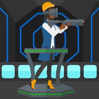 Volle virtuelle realität