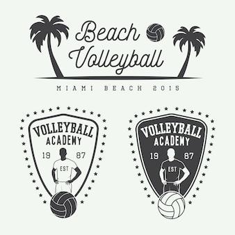 Volleyball-etiketten