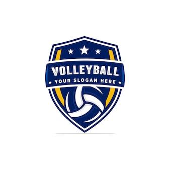 Volleyball logo vektor