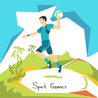 Volleyball spieler spiel match sport wettbewerb