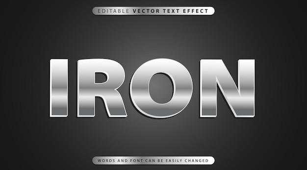Vollständig bearbeitbarer texteffektstil Premium Vektoren