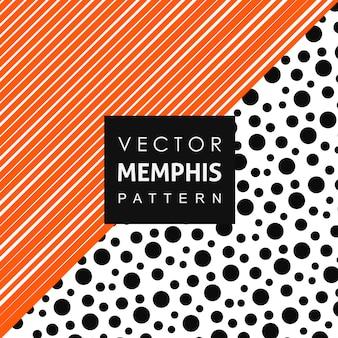 Volltonfarbe memphis pattern hintergrund
