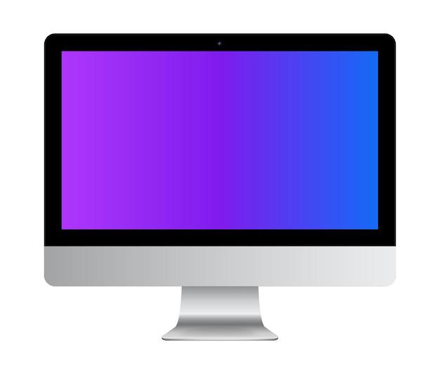 Vorderansicht des monitors