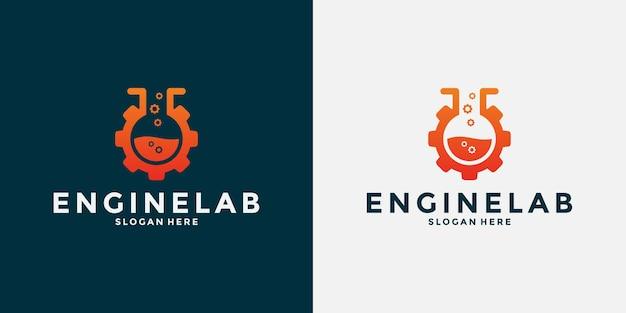 Vorlage für das design des creative engine lab-logos