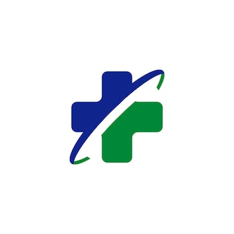 Vorlage für das design des krankenhauslogos