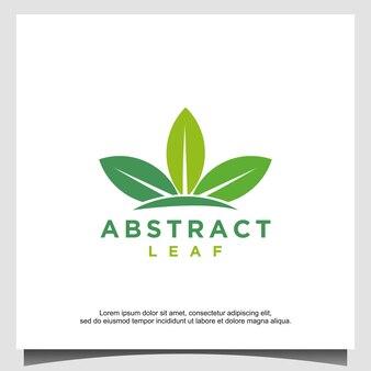 Vorlage für das design des triple-blatt-logos