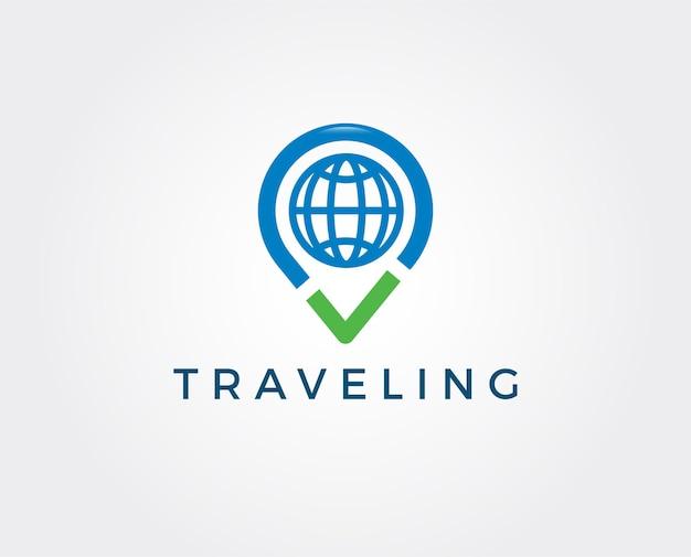 Vorlage für das flugreisen-logo