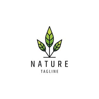 Vorlage für das logo der blattbaumlinie