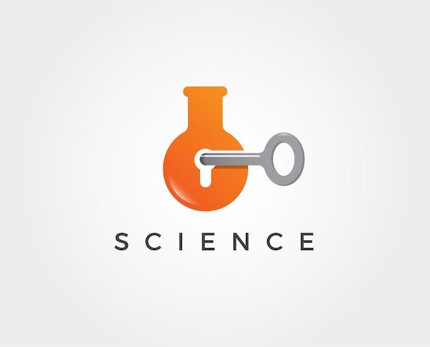 Vorlage für das logo des wissenschaftslabors