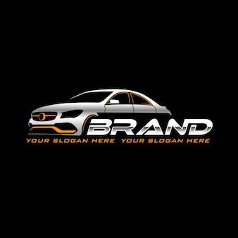 Vorlage für das sportwagen-logo