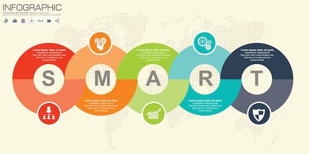 Vorlage für diagramm, grafik, präsentation und diagramm.