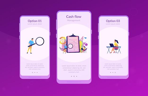 Vorlage für die schnittstelle der app zur kapitalflussrechnung