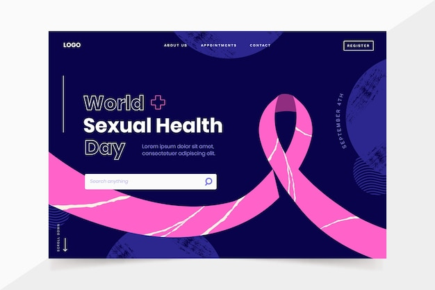 Vorlage für die zielseite zum welttag der sexuellen gesundheit