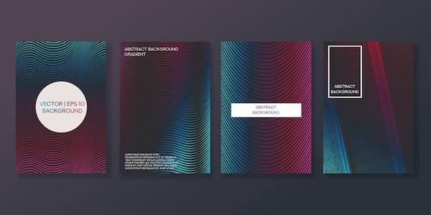 Vorlage für ein kreatives cover-set.