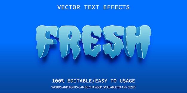 Vorlage für frischen texteffekt