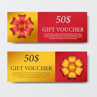 Vorlage für geschenkgutschein-gutschein