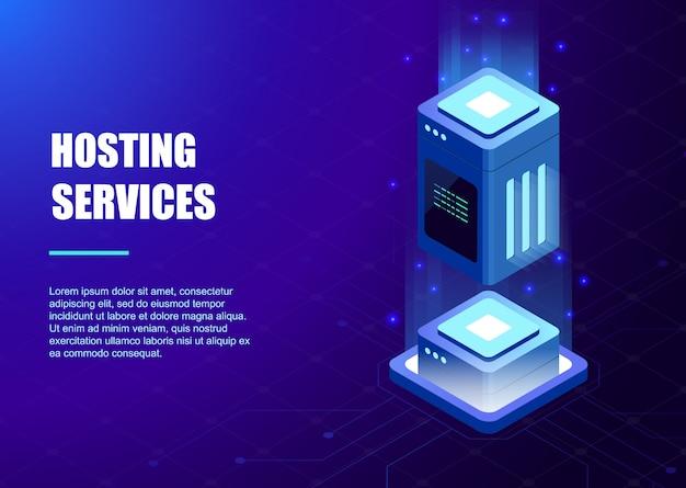 Vorlage für hosting-services