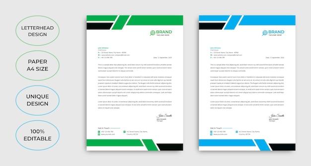 Vorlage für kreative unternehmens-e-mail-signaturen