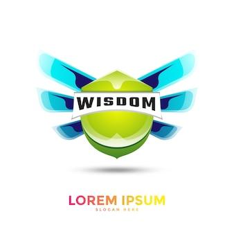 Vorlage für logo mit farbverlauf