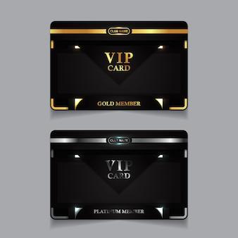 Vorlage für luxus-business-personalausweise
