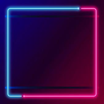 Vorlage für neonrahmen