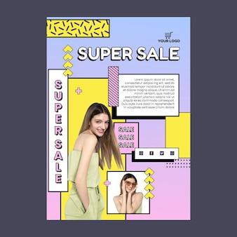 Vorlage für online-shopping-poster