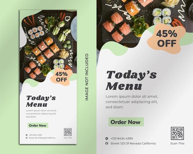 Vorlage für restaurant-flyer
