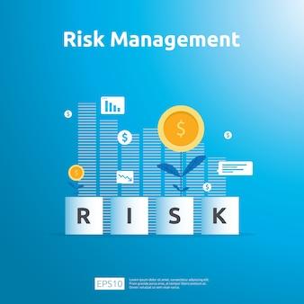 Vorlage für risikomanagement und finanzielle identifizierung