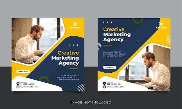Vorlage für social-media-beiträge für digitales geschäftsmarketing marketing