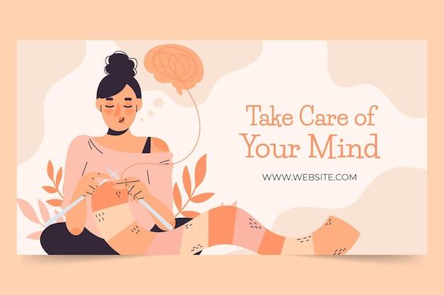Vorlage für social-media-beiträge zur psychischen gesundheit