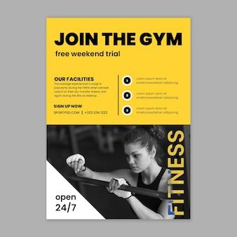Vorlage für sport- und technikplakate