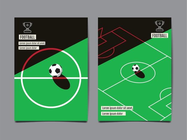 Vorlage sport layout, fußball, fußball