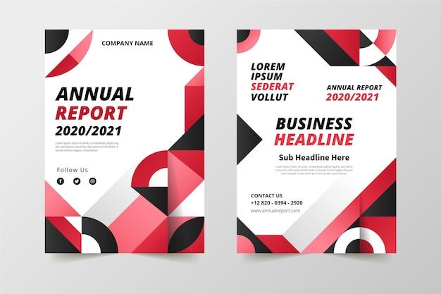 Vorlagen für den geometrischen jahresbericht 2020/2021