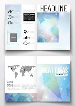 Vorlagen für die broschüre