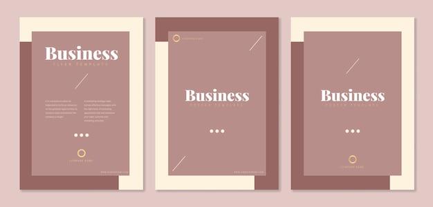 Vorlagen für unternehmensbroschüren
