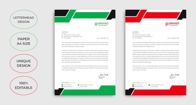 Vorlagendesign für unternehmens-e-mail-signaturen