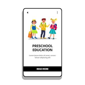 Vorschulerziehung und kurse kinder