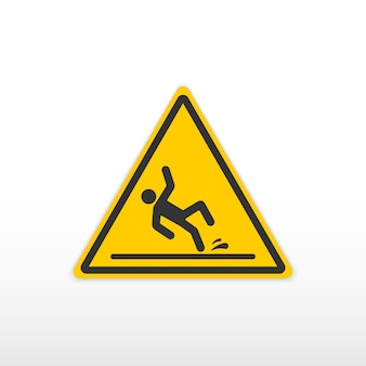 Vorsicht nasser fußbodenschild.
